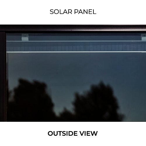 Outside View of Solar Panel